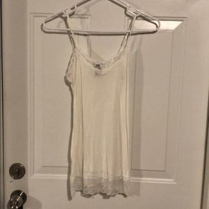 Tops - White camis